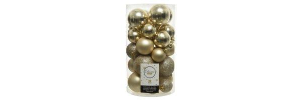c) champagner und gold