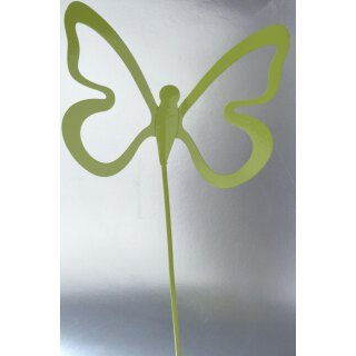 Schmetterlingspick grün