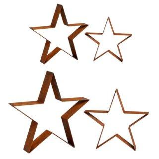 stimmungsvolle Weihnachts-Deko Gartendeko Stern in 4 möglichen Größen