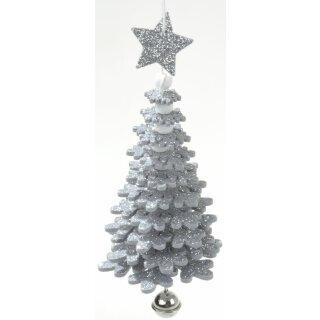 weihnachtlicher Baumhänger Tanne