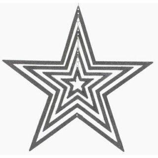Anhänger Stern 39 cm