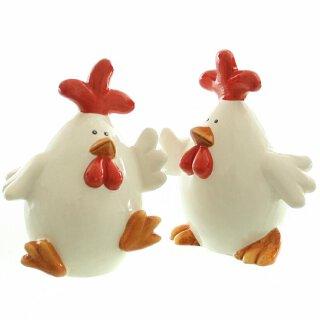 Huhn Keramik Preis für 2 Stück