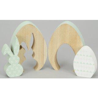 Silhoutette Holzei Preis für 2 Stück