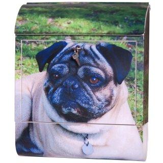 Briefkasten Hund mit Geräusch