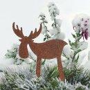 dekorativer Elchpick Metall edelrostig Preis für 2...