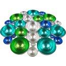 stimmungvoller Teelicht-Halter Tisch-Deko Gartentisch-Deko Wand-Deko Farbenspiel groß
