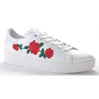 Shoecolate Damenschuh Sneaker weiß