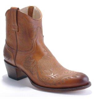 Damen Cowboy Stiefel SENDRA braun