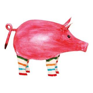 Metall Schwein Piggy