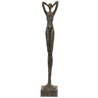 dekorative große Frauen-Skulptur Deko-Figur Damen-Figur Hilda ca. 88 cm hoch