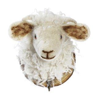 Kleiderhaken Schaf gefilzt