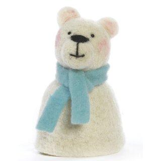 Eierwärmer Eisbär