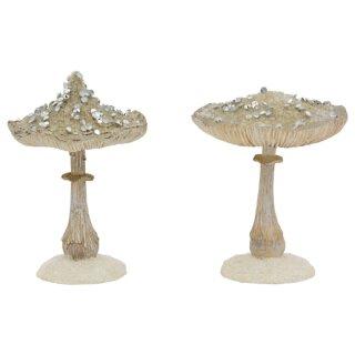 dekorativer ausgefallener nostalgischer Deko-Pilz in verschiedenen Ausführungen