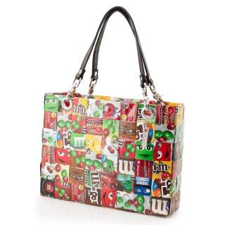 recycling upcycling originelle Damen-Umhängetasche aus Verpackungen in Handarbeit gefertigt