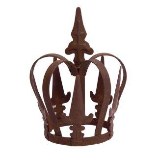ausgefallene derbe Garten-Krone Pflanz-Krone Deko-Krone Landhaus Shabby Vintage Style