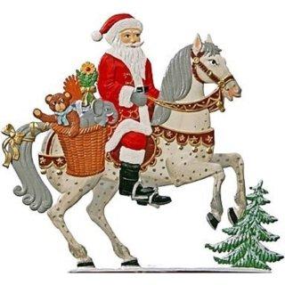 Wilhelm Schweizer Zinnfigur Nikolaus zu Pferd