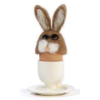Eierwärmer Hase Eggy mit Brille Preis für 2 Stück