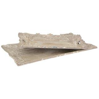 Tablett rechteckig im shabby Landhaus-Stil in 2 verschiedenen Größen