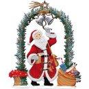 Wilhelm Schweizer Zinnfigur Nikolaus am Weihnachtstor...