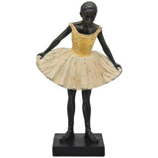 dekorative Dekofigur Ballerina mit Tütü stehend