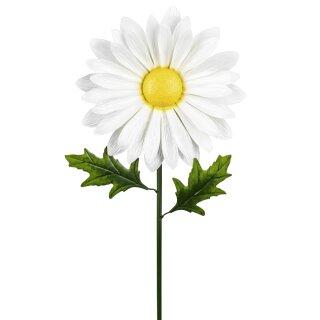 dekorativer ausgefallener Blumenstecker Margeritenblüte in 2 möglichen Größen