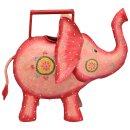 dekorative ausgefallene Deko-Gießkanne als Elefant...