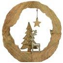 dekoratives ausgefallenes weihnachtliches Dekoobjekt...