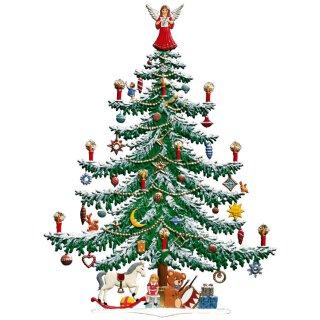 Wilhelm Schweizer Zinnfigur große Weihnachtstanne