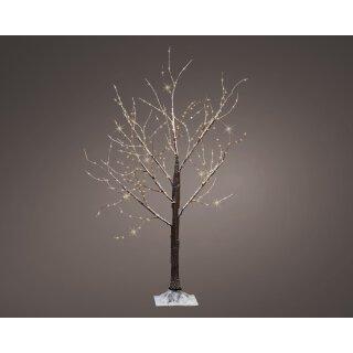 stimmungsvoller dekorativer LED Lichterbaum mit 300 LEDs warmweiß für innen und außen